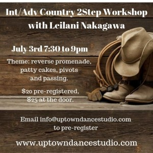 Country Two Step Workshops