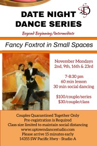 Date Night Dance Int. November
