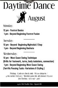 Daytime Dance August (1)