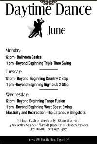 June Daytime Dance
