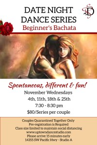 November Beginners Date Night New Time