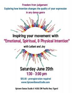 Workshop June 20th