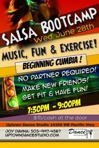 Cumbia Salsa June 28th