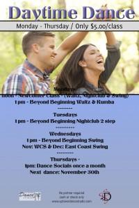 Daytime Dance Details