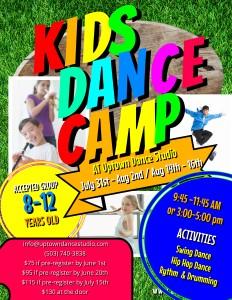 Kids Summer Camp Final Print