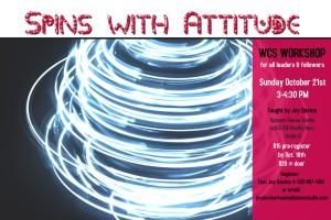 spins wkshop Oct. 21st